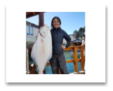 March 24, 2018 : 37 lbs.Halibut - Haro Strait - Nola from Vancouver BC