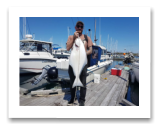 May 6, 2018 : 22 lbs.Halibut - Race Rocks - Ben from Vancouver BC
