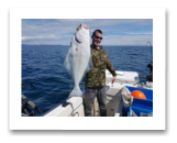 May 10, 2018 : 21 lbs.Halibut - Constance Bank - Kyle from Alberta