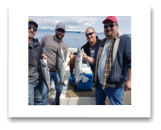 June 6, 2018 : 10, 8, 7 lbs.Chinook Salmon - Constance Bank - Novus Group Trip from Victoria BC
