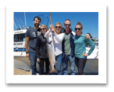 July 13, 2018 : 15 lbs. Chinook Salmon - Sooke BC - Raymond, Heather, Cindy, Mike, & Jessica from Austin Texas