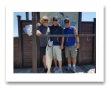 July 15, 2018 : 17 lbs. Chinook Salmon - Sooke BC - Day 2 - Ron, Steve, & Spencer