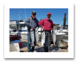 August 1, 2018 : 21, 16, 15, 13 lbs. Chinook Salmon - Sooke BC - Stan & Rod from Washington State