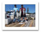 August 16, 2018 : 21, 17, 16, 9 lbs chinook salmon & Sockeye Salmon - Day 2 of 2 - Sooke BC - Walter & Francisco from California with Bruce from Victoria BC