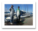 May 23, 2014: 18 & 22 lbs. Halibut - Constance Bank -  Mike & Carl from Ladysmith BC
