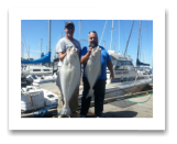 June 6, 2014: 28, 22 lbs. Halibut - Constance Bank -  Best friend Big Al and Daryl from Calgary and Victoria