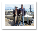 August 1, 2014 : 23, 15 lbs. Chinook  - Otter Point - Neil & Roger from Victoria BC