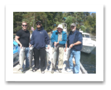 August 8, 2014 : 22.5, 16, 13 lbs. Chinook and Pink Salmon- Muir Creek - Singer Valve Crew Day 1 of 2