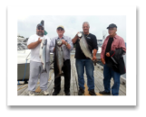 August 18, 2014 : 20, 19, 15 lbs. Chinook Salmon - Otter Point - Day 1 of 3 -  Big Al, Don, Dave, & Walter from Calgary Alberta