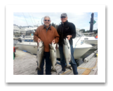 August 29, 2014 : 17, 16, 13 lbs. Chinook Salmon - Otter Point - Todd & Ian from Victoria BC