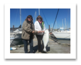 April 9, 2015 :24 lbs. Halibut - Constance Bank - Amanda & Tammie from Victoria BC.