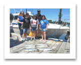 July 2, 2015 : Coho Salmon & Pink Salmon - Sheringham PT - Family Fun Day with Jason, Jenn, Alex, Sam, & Jet Pretex from Tampa Florida