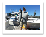 July 30, 2015 : 13 lbs. Coho & Pink Salmon - Muir Creek - Don from Victoria BC