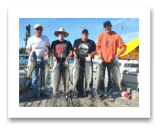 August 1, 2015 : 22, 20, 19, 18, 15, 14, 14, 13 lbs. Chinook Salmon - Muir Creek - Day 1 of 2 Sooke Enhancement Derby - The Morin Group from Calgary and Surrey