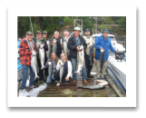 August 8, 2015 : 26 to 10 lbs. Chinook Salmon, Coho & Pink Salmon - Otter Point - Day 2 of 2 - Singer Valve Group from Vancouver BC