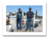 August 11, 2015 : 15, 15, 14, 12 lbs. Chinook Salmon - Otter Point - Day 1 of 2 - Dick & Chuck from Washington State