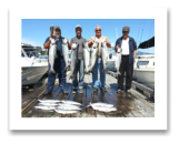 August 25, 2015 : 18 to 10 lbs. Chinook Salmon & Limit of Coho & Pink Salmon - Day 3 of 3 - Otter Point - Big Al, Dave, & Cory from Calgary Alberta with Joey from Kelowna BC