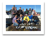 September 11, 2015 : 5 to 18 lbs. Chinook Salmon, Coho, & Pink Salmon - Otter Point - Justin's Stag from Vancouver BC