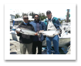 July 18, 2016 : 19 & 14 lbs. Chinook Salmon - Sheringham Point - Jason, John, & Fred from Victoria and Cowichan Lake BC