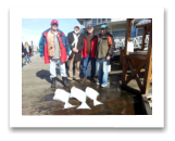March 3, 2016 : 28, 22, 18 lbs. Halibut - Albert Head - Uncle Joe & Friends Roger, Jerry, & Gary