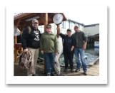 April 16, 2016 : 34 lbs. Halibut - Race Rocks - Travis, Grayson, Joe, & Jay from Lloydminster Alberta
