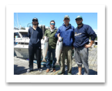 June 25, 2016 : 19, 18 lbs. Chinook Salmon - Sheringham Point - Alex Beaudry, AJ Beaudry, Allan Beaudry, & Phil Harris from Mill Bay BC