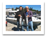 July 26, 2016 : 12 & 7 lbs. Chinook Salmon - Otter Point - Dustin & Neil from Victoria BC