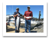 July 28, 2016 : 24 lbs. Chinook Salmon & Pink Salmon - Otter Point - Day 2 of 2 - Alan, Adam, & Blaine from Saskatchewan