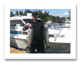 August 3, 2016 : 13 & 12 lbs. Chinook Salmon - Muir Creek - Perry from Maple Ridge BC