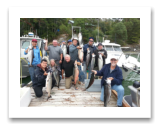 August 6, 2016 : Up to 24 lbs. Chinook Salmon - Otter Point - The Singer Valve Group from Vancouver BC