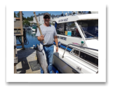 June 5, 2017 : 18 lbs. Chinook Salmon  - Muir Creek - First Sooke Salmon of 2017 with Best Friend Daryl from Victoria BC