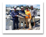 June 30, 2017 : 17 & 10 lbs. Chinook Salmon  - Muir Creek - Dumont, Bob, Shanny, & John from Washington & Texas