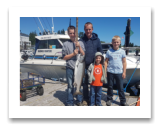 July 6, 2017 : 20 lbs. Chinook Salmon  - Muir Creek - Dekok family from Lethbridge