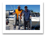 July 3, 2017 : 17, 15, 12, 8 lbs. Chinook Salmon  - Muir Creek - Day 2 of 2 - Dave, Noah, & Nancy from Texas