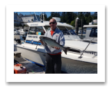 July 5, 2017 : 12 lbs. Chinook Salmon  - Muir Creek - Kevin from Spokane Washington