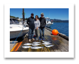 July 30, 2017 : Limit of Pink Salmon - Trap Shack - Friends day out with the Vallely family from Cowichan BC