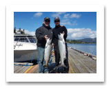 August 24, 2017 : 18 , 14 lbs. Chinook Salmon - Muir Creek - Day 2 of 2 - Jack & Jane from Edmonton Alberta