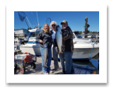 August 26, 2017 : 15, 13 lbs. Chinook Salmon - Trap Shack - Day 1 of 2 - Anita & Ron from Oklahoma and Morris from Washington